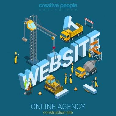 building process concept web