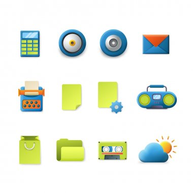 smooth technology icons