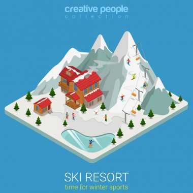ski resort winter mountain sports