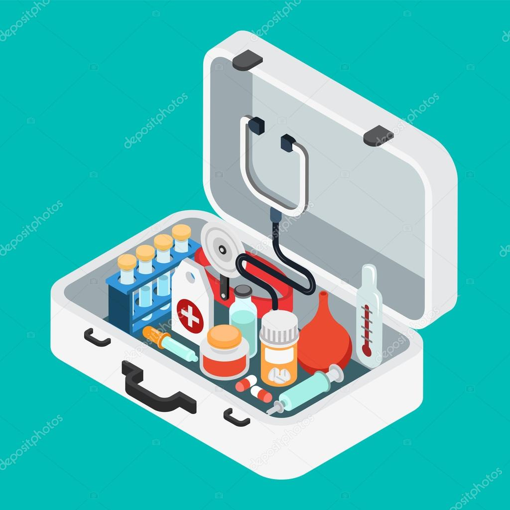 doctor case first aid kit