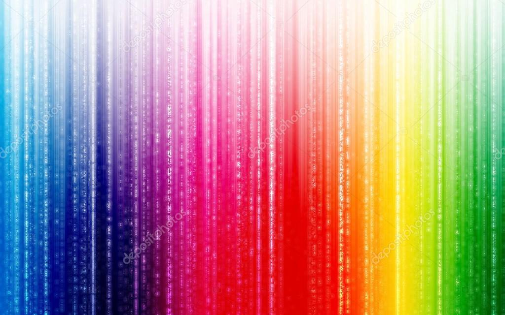 Fondo Abstracto Arco Iris Cool, Para Diseño Web, Fondos