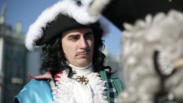 Prvním císařem Rusko Petra jsem objetí své milované Kateřiny jsem