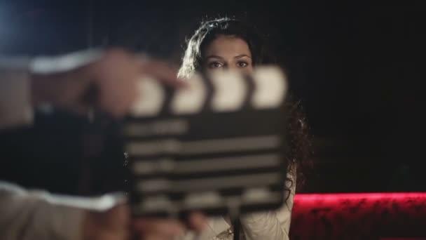 Video produkce hudební klip pro mladé hudební hvězdy. Zpomalený pohyb