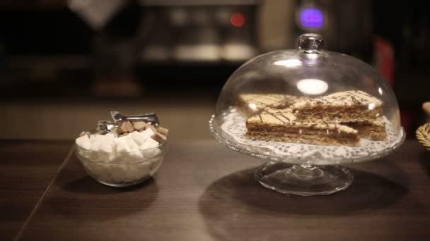 Cukr a dezertů různé sladkosti. HD, s jezdcem