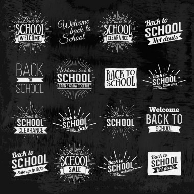 Back to School Calligraphic