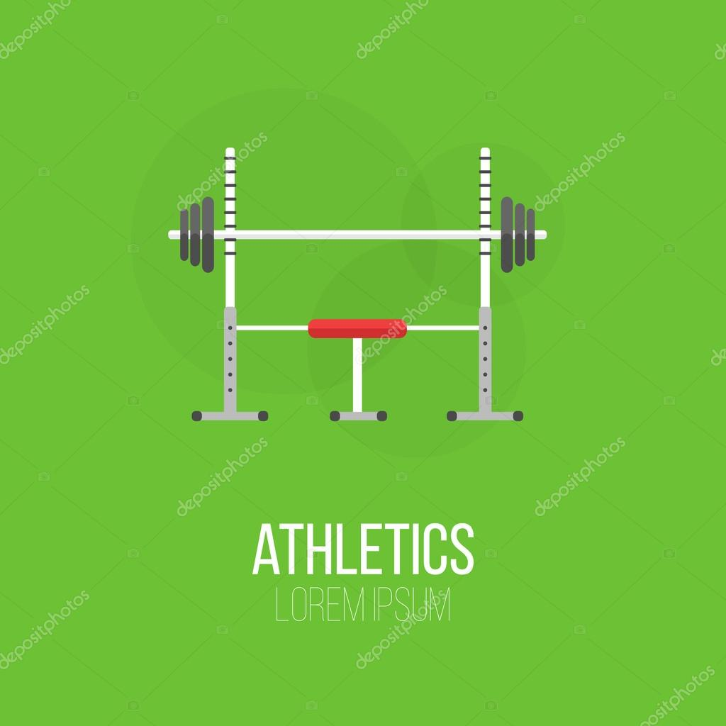 Sport Ausrüstung flache Banner Vorlage — Stockvektor © 21kompot ...