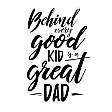 Happy Fathers Day Retro calligraphic
