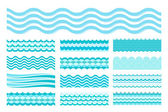 Fotografie Kolekce mořských vln