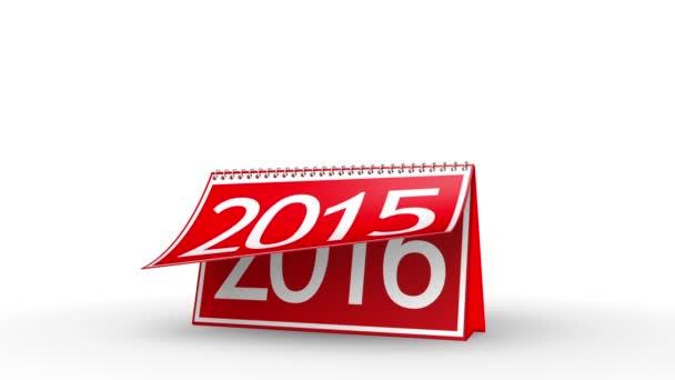 Új év 2016 naptár (Matt)