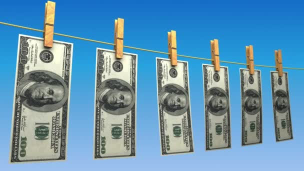 Drying Dollars (Loop)