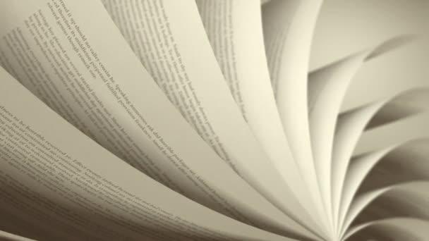 otáčení stránky (smyčka) anglické knihy