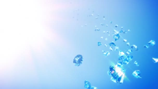 Diamonds Sky Background (Loop)