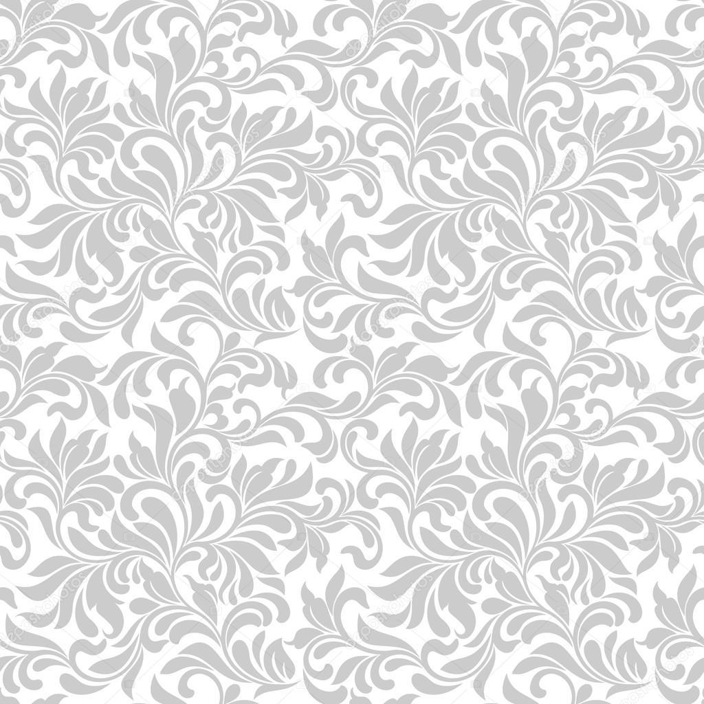 De patrones sin fisuras tracer a de elemento abstracto - Papel pintado blanco y gris ...