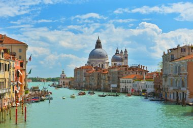 Grand Canal in spring, Venice, Italy.