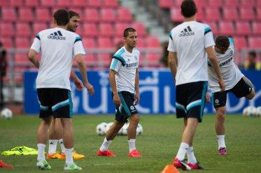 Eden Hazard of Chelsea FC in action
