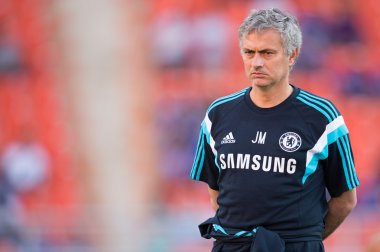 Manager Jose Mourinho of Chelsea