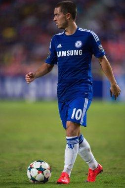 Eden Hazard of Chelsea in action