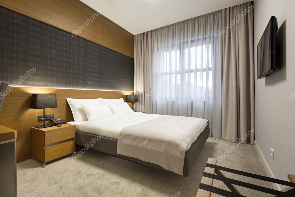 Interni di una nuova camera da letto moderno hotel foto for 2 piani di camera da letto