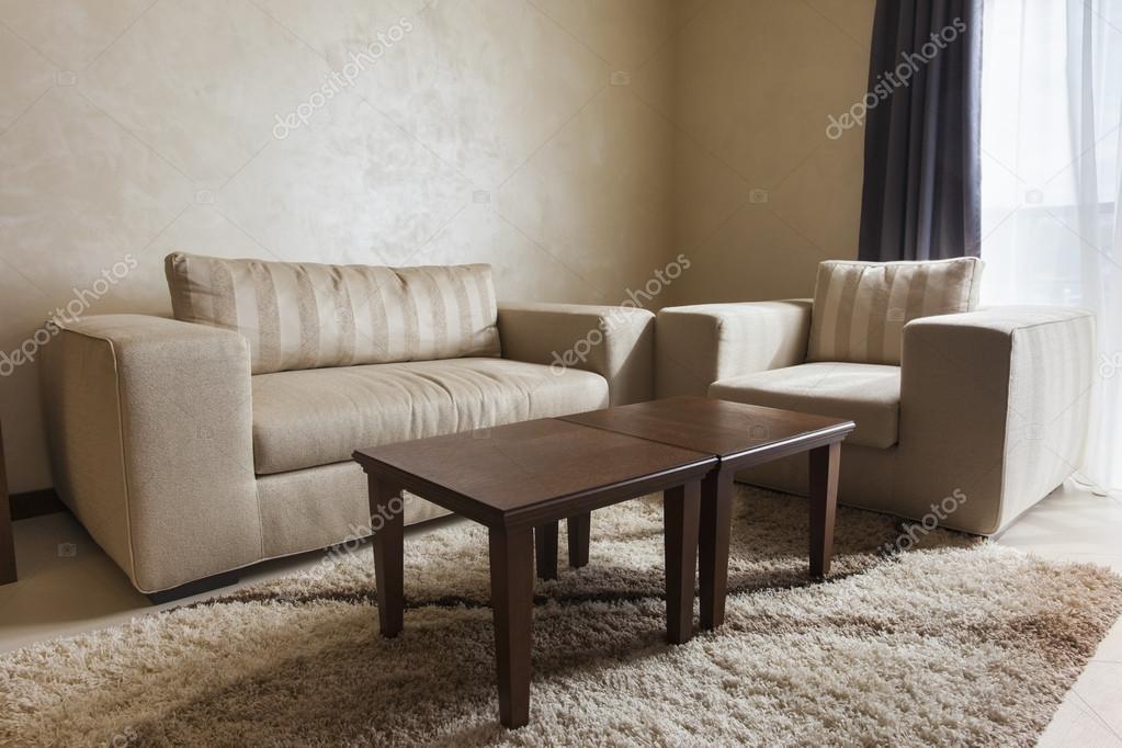 moderne woonkamer meubels — Stockfoto © rilueda #53973049