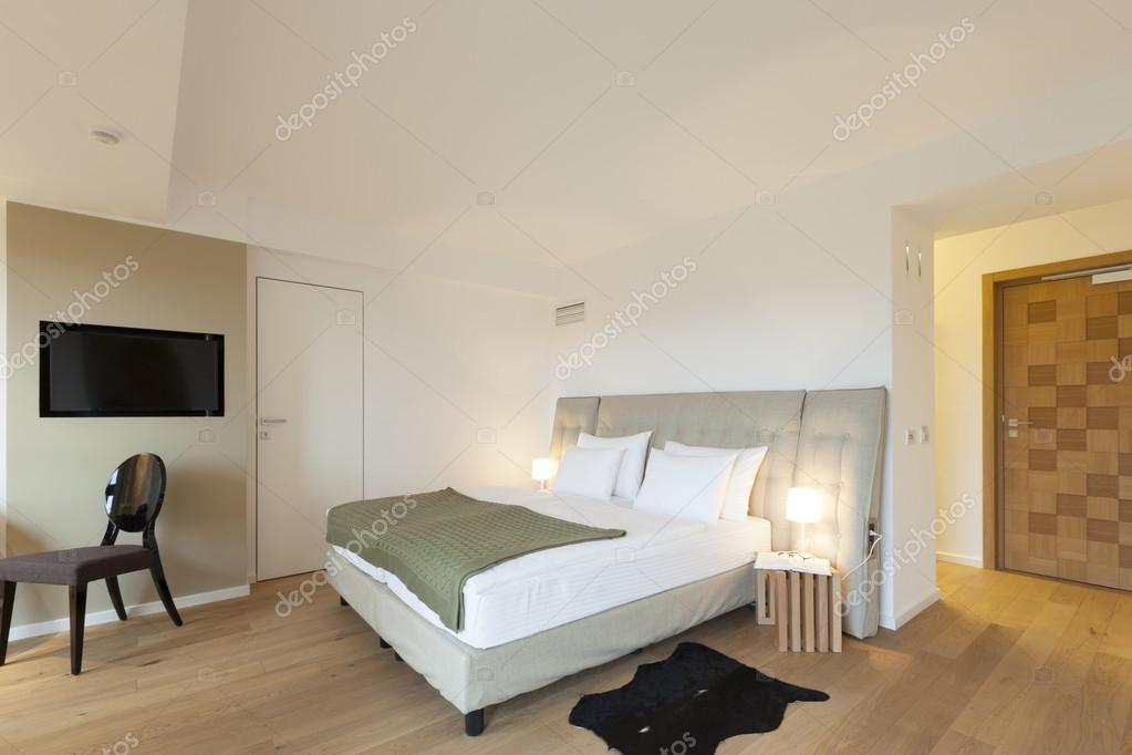 moderne Schlafzimmer-Interieur — Stockfoto © rilueda #60331057