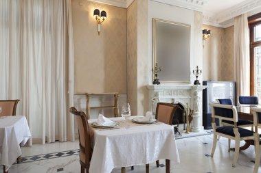 Fancy dining room interior