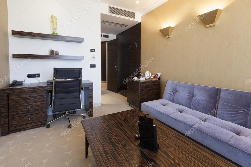 Luxus Hotel Room Interior Stockfoto C Rilueda 63292059