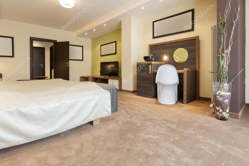 Interior of a modern multi-purpose living space