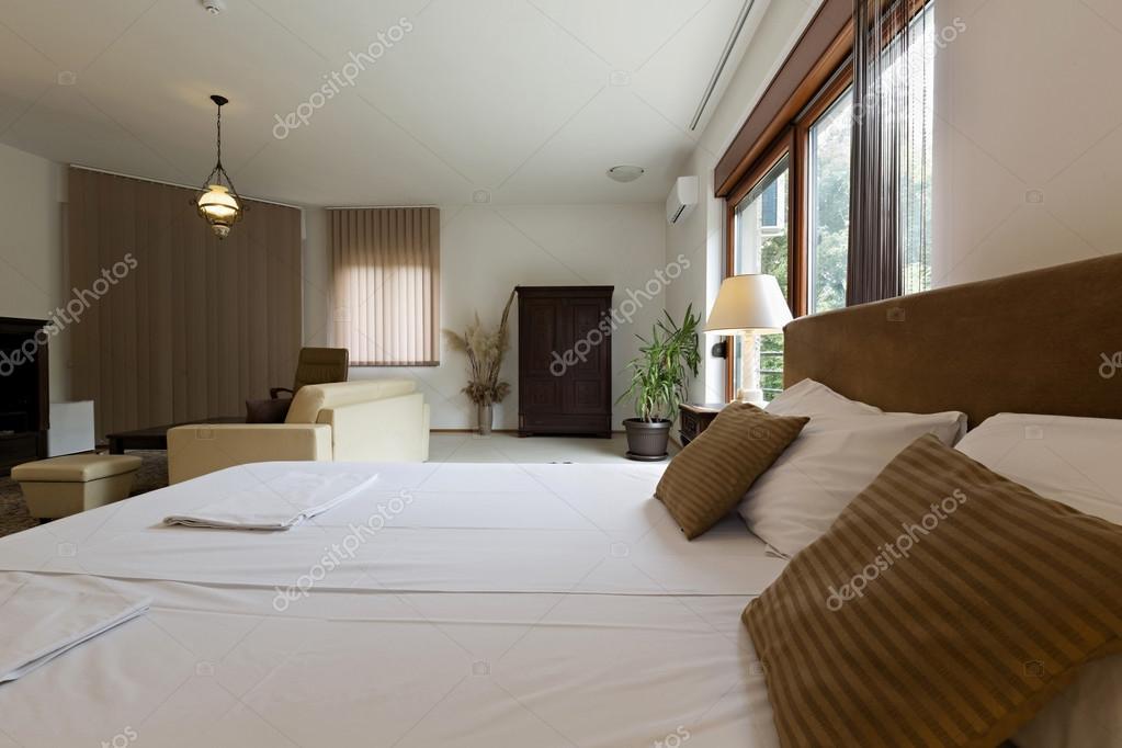 Moderne Schlafzimmer Einrichtung U2014 Stockfoto