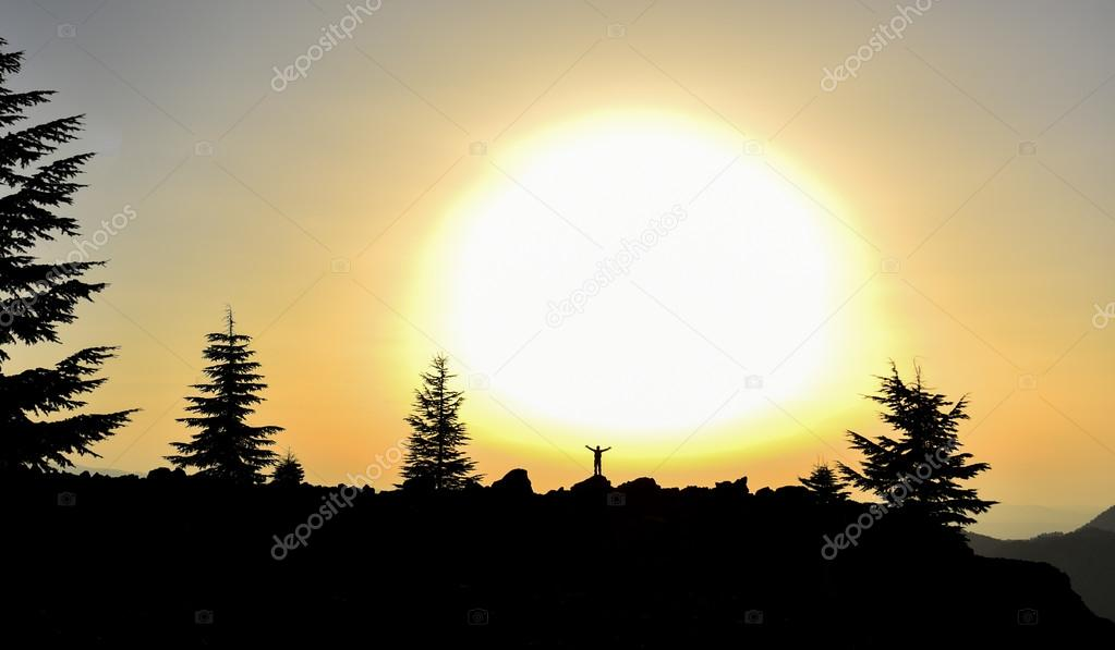enjoy a tremendous sunrise