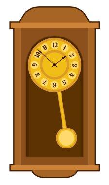 old retro wall clock