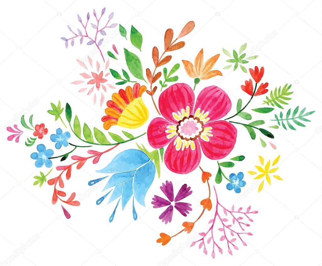 Bonita Desenhos De Flores Coloridas Melhores Casas De Todas As