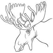 moose head mascot