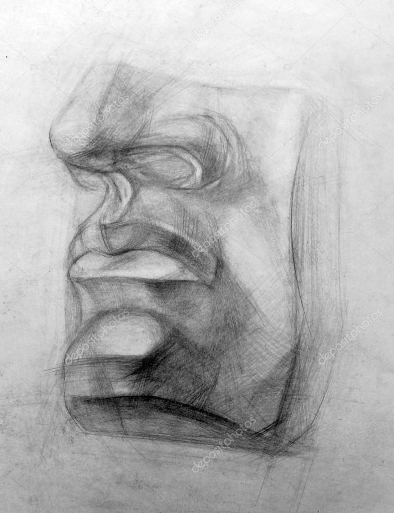 academic drawing pencil