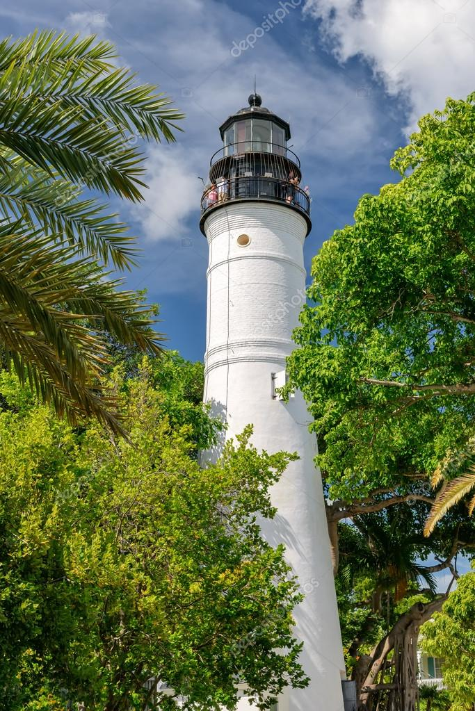 Lighthouse Key West & Keeper's Quarters Museum  — Stock