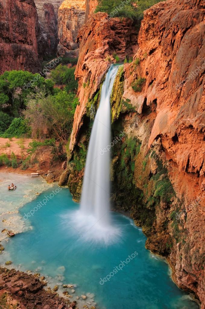 Beautiful Havasu Falls, Supai, Arizona, United States