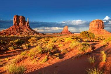 Sunset at Monument Valley, Arizona