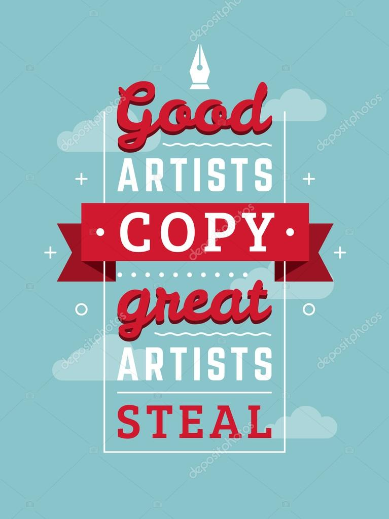 inspirational and motivational quotes typographic poster design in