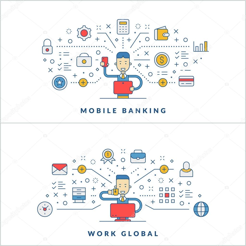 how mobile banking works pdf