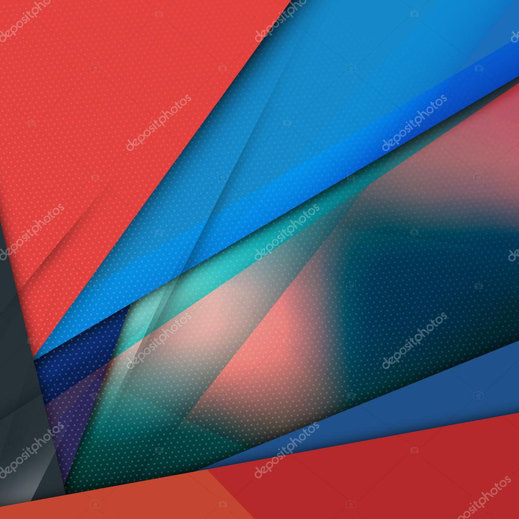 Modern Material Design Abstract Vector Background. EPS10
