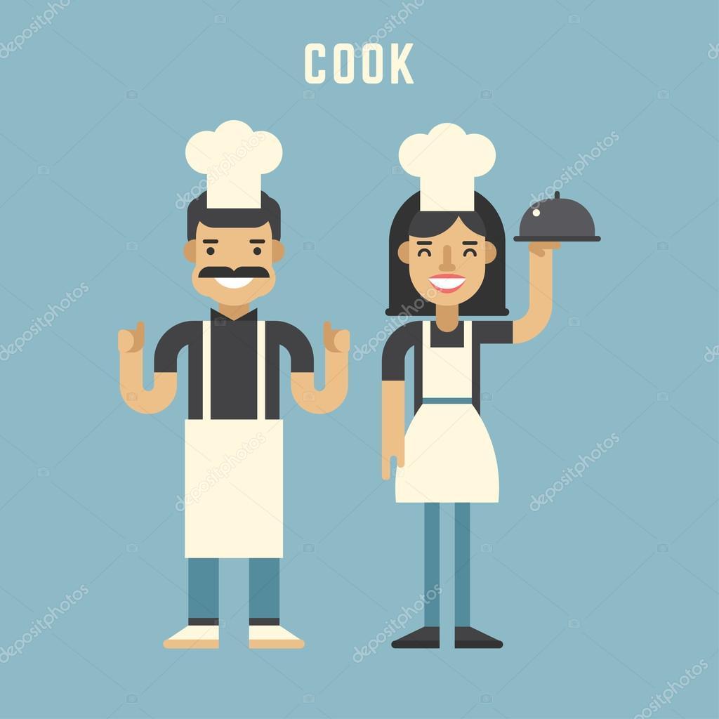 Cocinar el concepto personajes de dibujos animados de for Cocinar imagenes animadas
