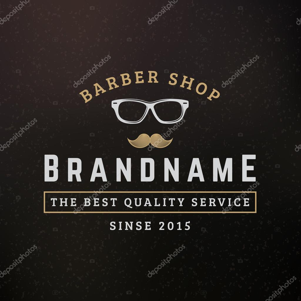 Hipster Glasses And Mustache Vintage Retro Design Elements For