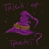 Halloween čarodějnice klobouk