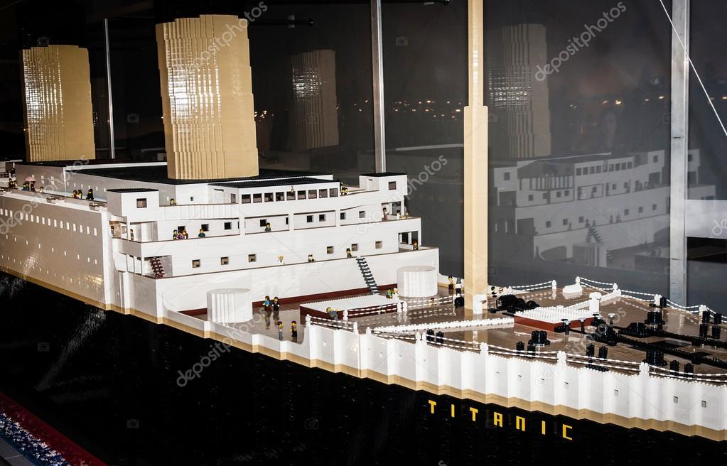 Barco De Bloques Lego— Foto Colosal Titanic LegendarioHecho DH9E2I