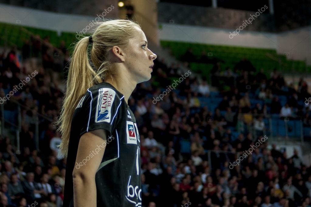 Patrycja Krolikowska, handball player of Pogon Baltica Szczecin