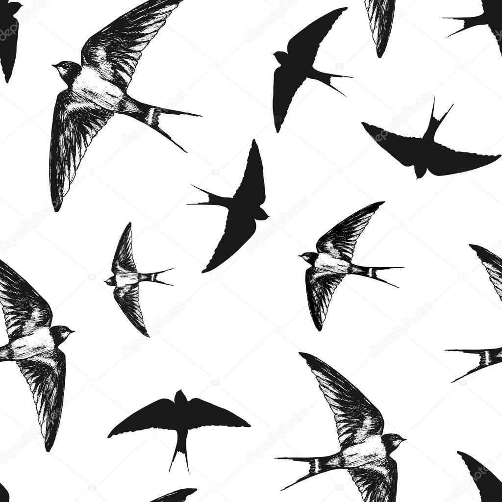 pajaros volando blanco y negro images. Black Bedroom Furniture Sets. Home Design Ideas