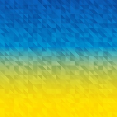 Abstract Background using Ukraine flag colors