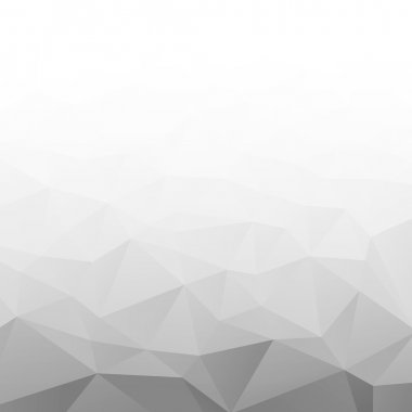 Abstract Gradient Gray White Geometric Background.