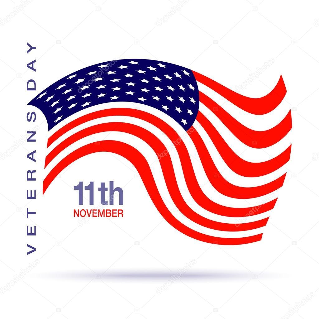 Bandierina di giorno dei veterani di design logo con - Papaveri e veterani giorno di papaveri e veterani ...