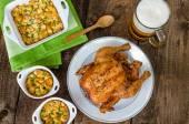 grilované kuře s českým pivem