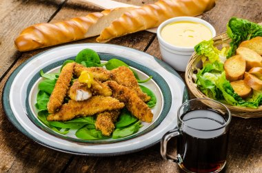 Corn crusted Chicken Tenders